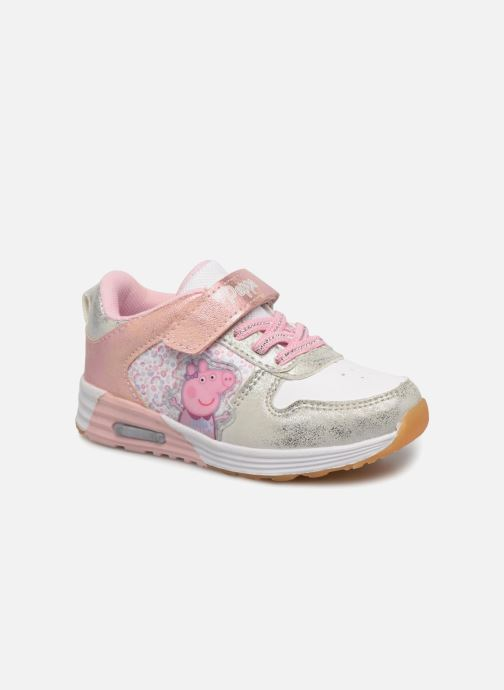 Trainers Peppa Pig Nodde Grey detailed view/ Pair view