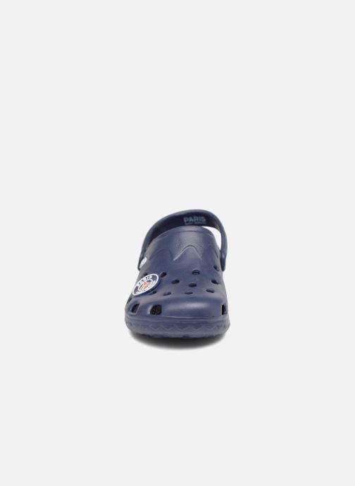 Sandales et nu-pieds PSG Atome Bleu vue portées chaussures