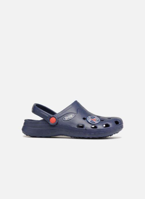 Sandales et nu-pieds PSG Atome Bleu vue derrière