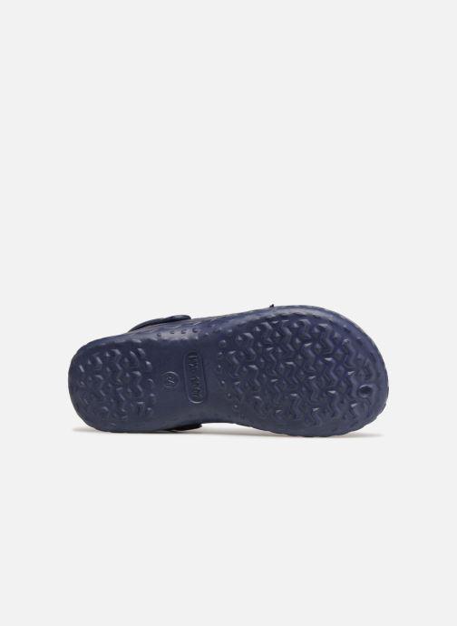 Sandales et nu-pieds PSG Atome Bleu vue haut