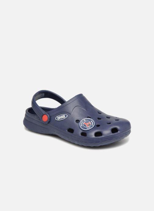 Sandales et nu-pieds PSG Atome Bleu vue détail/paire
