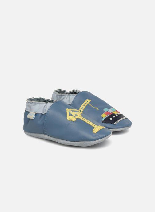 Pantuflas Robeez Shipyard Azul vista de detalle / par