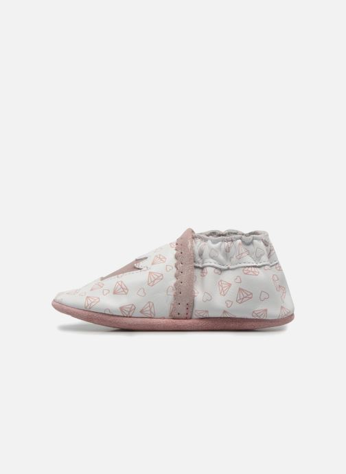 Chaussons Robeez Lovely Princess Blanc vue face