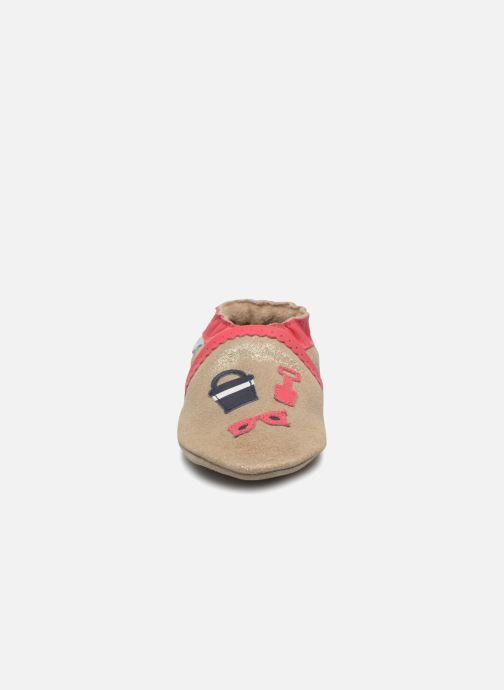 Chaussons Robeez Beach Summer Or et bronze vue portées chaussures