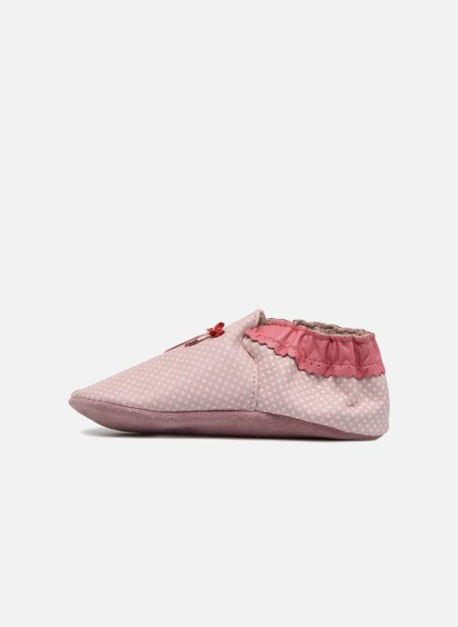 Chaussons Robeez Pink Flamingo Rose vue face