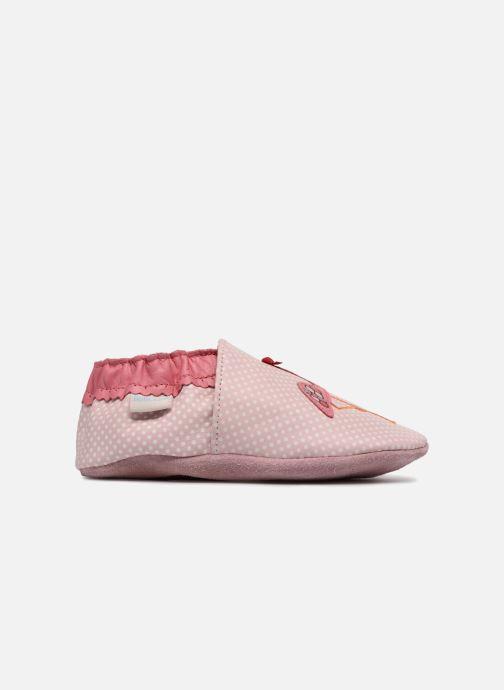 Chaussons Robeez Pink Flamingo Rose vue derrière