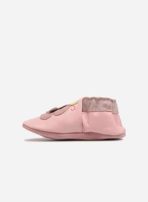 Chaussons Robeez Holiday Garden Rose vue face