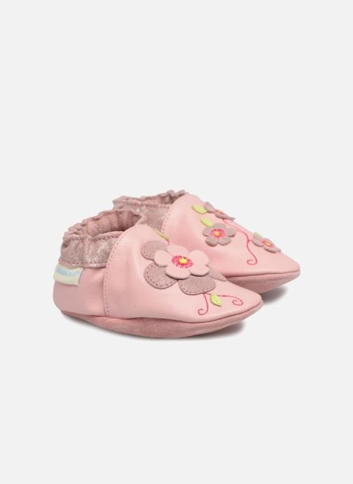 Chaussons Robeez Holiday Garden Rose vue détail/paire