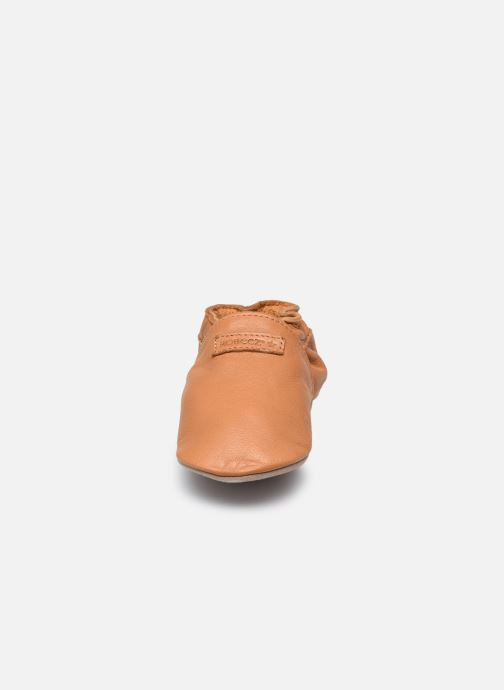 Chaussons Robeez My First Marron vue portées chaussures
