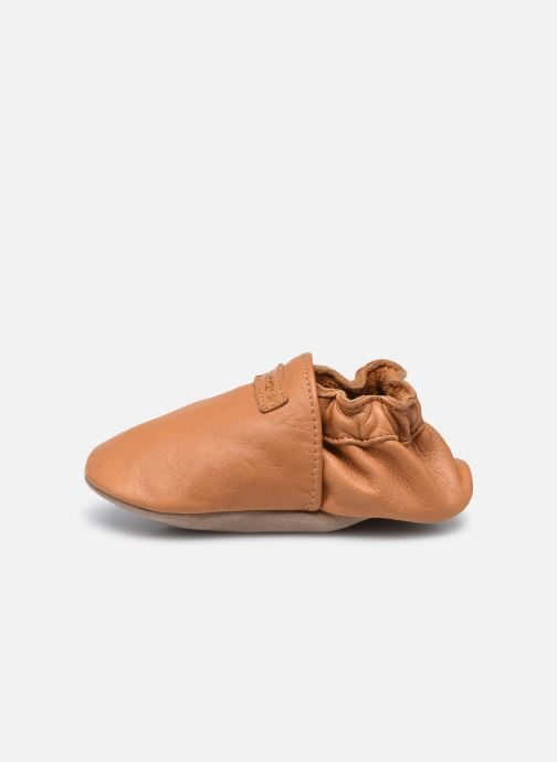 Chaussons Robeez My First Marron vue face