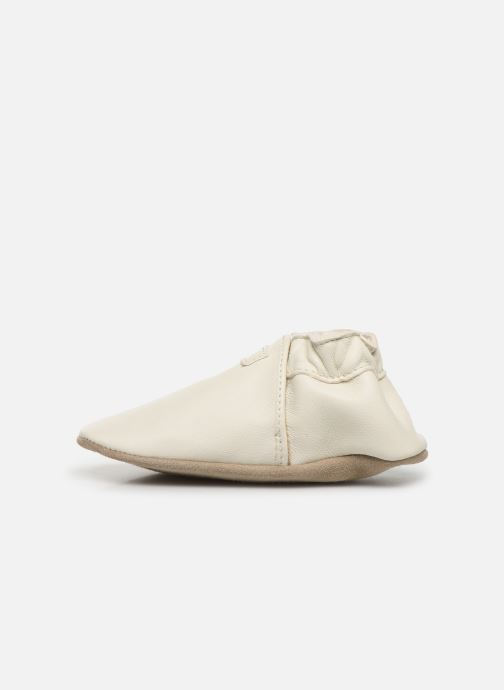 Pantofole Robeez My First Bianco immagine frontale