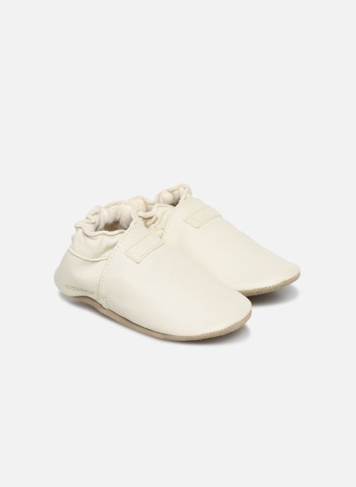 Chaussons Robeez My First Blanc vue détail/paire