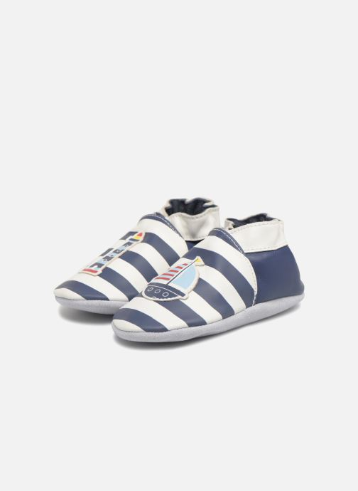 Chaussons Robeez On The Sea Bleu vue 3/4