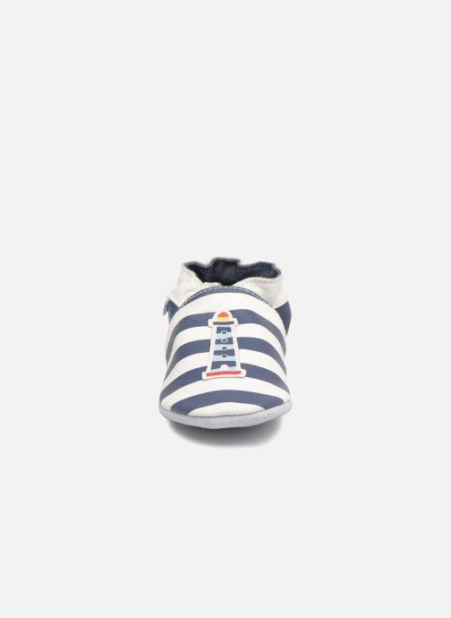 Chaussons Robeez On The Sea Bleu vue portées chaussures