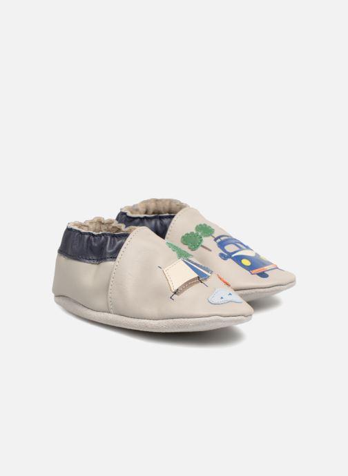 Pantofole Robeez So Cool Grigio immagine 3/4