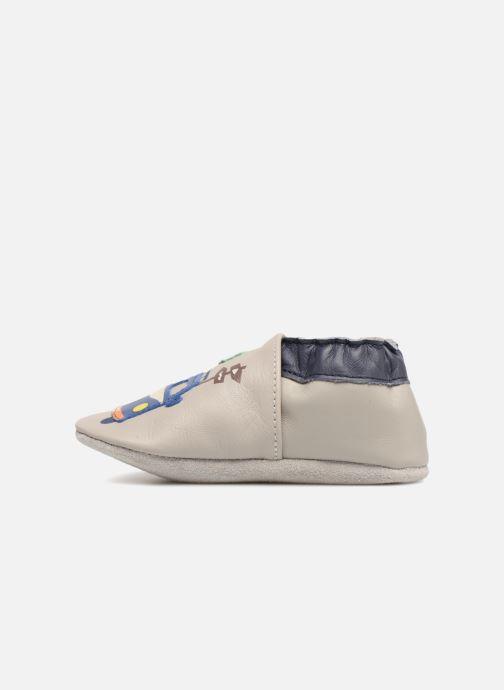Pantofole Robeez So Cool Grigio immagine frontale