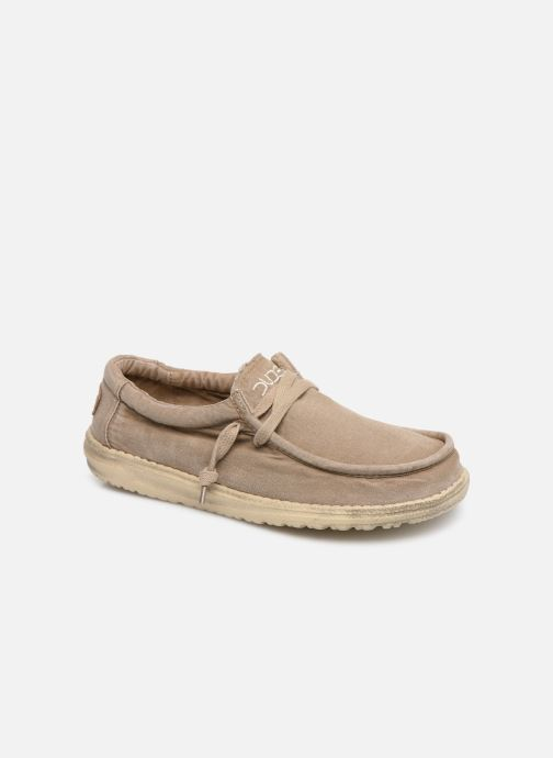 Baskets DUDE Wally Washed Marron vue détail/paire