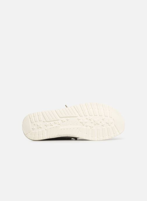 Baskets DUDE Wally Washed Gris vue haut