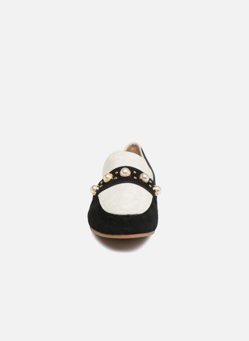 Mocassins Essentiel Antwerp Pistou Blanc vue portées chaussures