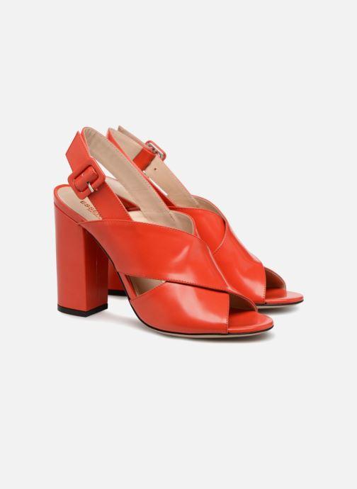 Sandales et nu-pieds Essentiel Antwerp Priska Rouge vue 3/4