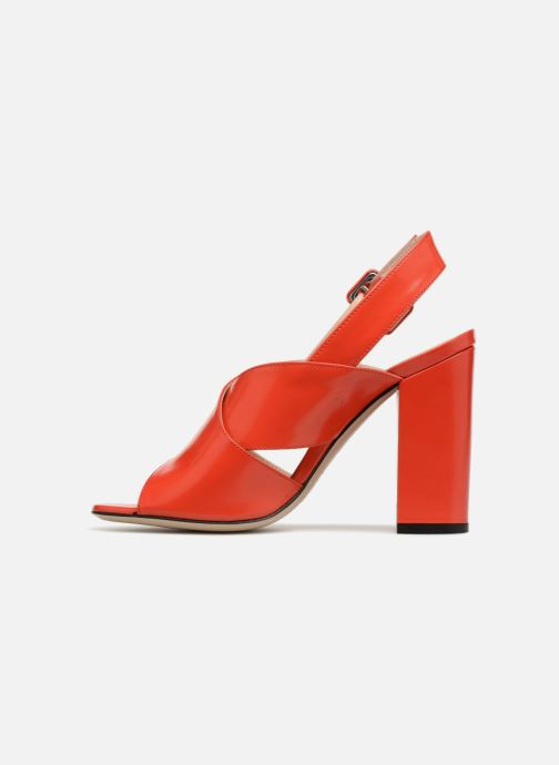 Sandales et nu-pieds Essentiel Antwerp Priska Rouge vue face