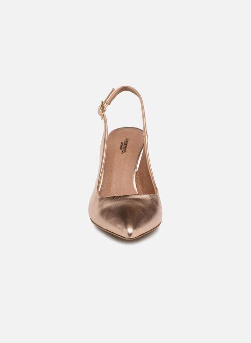 Escarpins Essentiel Antwerp Proxy Rose vue portées chaussures