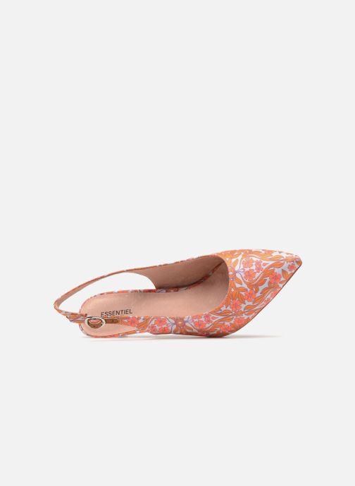 Zapatos de tacón Essentiel Antwerp Pain d'épice Naranja vista lateral izquierda