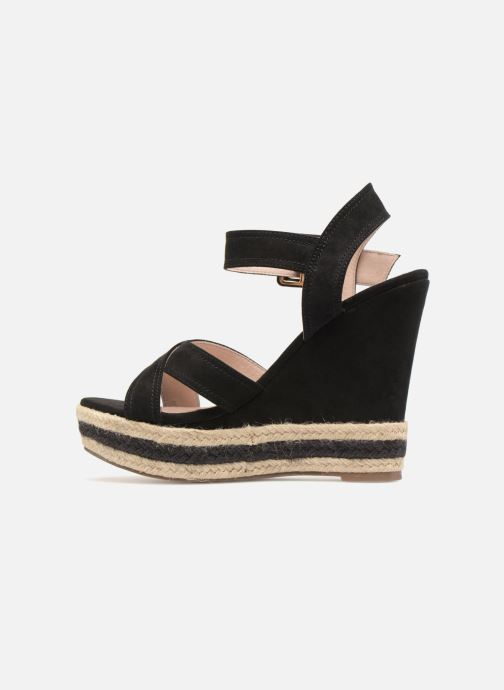 Sandals Essentiel Antwerp Patto Black front view