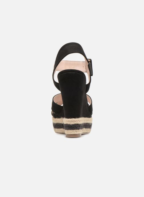 Sandals Essentiel Antwerp Patto Black view from the right