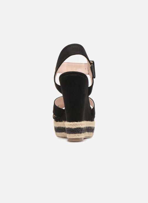 Sandales et nu-pieds Essentiel Antwerp Patto Noir vue droite