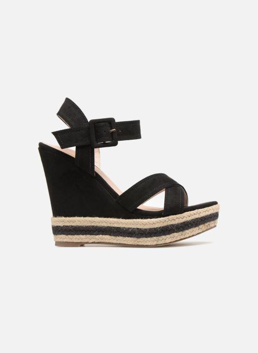 Sandales et nu-pieds Essentiel Antwerp Patto Noir vue derrière
