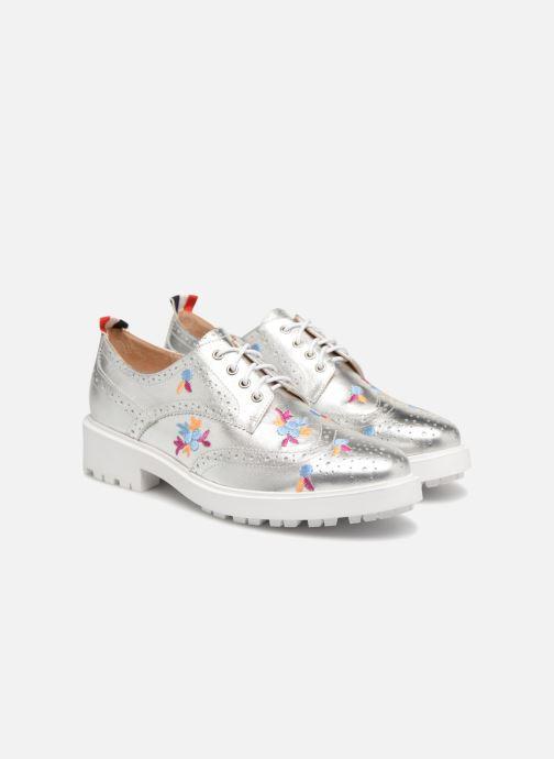 Chaussures à lacets Essentiel Antwerp Panache Argent vue 3/4