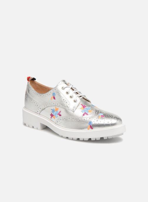 Snøresko Essentiel Antwerp Panache Sølv detaljeret billede af skoene