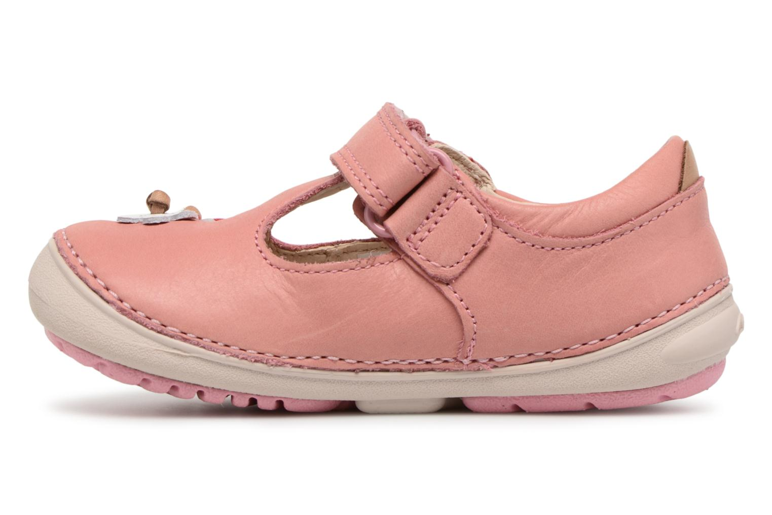 Ballet pumps Clarks Softly Blossom Pink front view