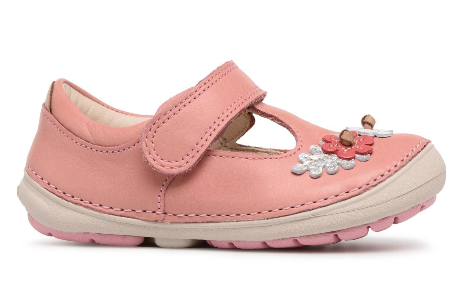 Ballet pumps Clarks Softly Blossom Pink back view