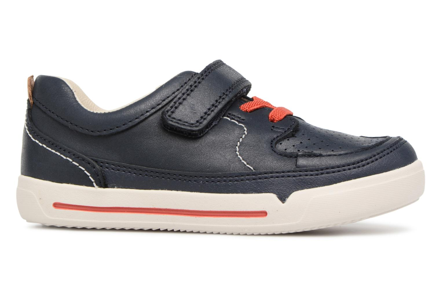Trainers Clarks Mini Oasis Blue back view