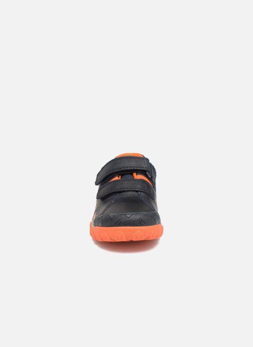 Baskets Clarks Tyrex Walk Inf Bleu vue portées chaussures