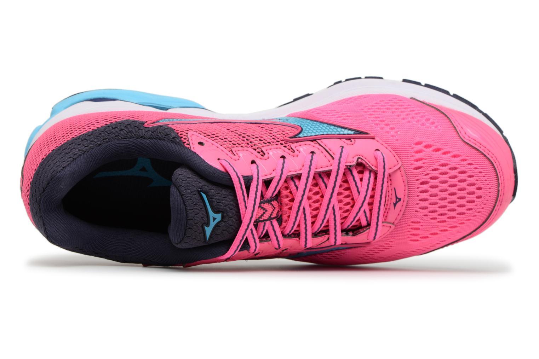 Chaussures de sport Mizuno Wave Rider 21 (W) Rose vue gauche