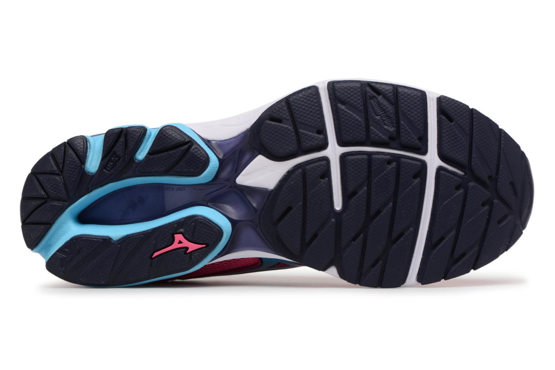 Chaussures de sport Mizuno Wave Rider 21 (W) Rose vue haut