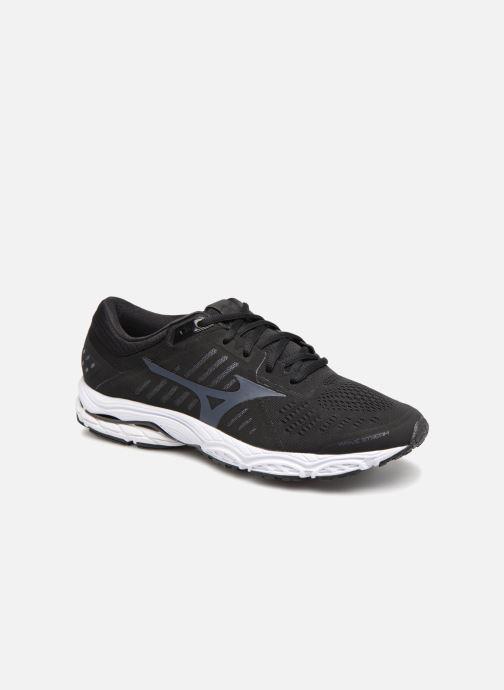 Chaussures de sport Mizuno Wave Stream Noir vue détail/paire
