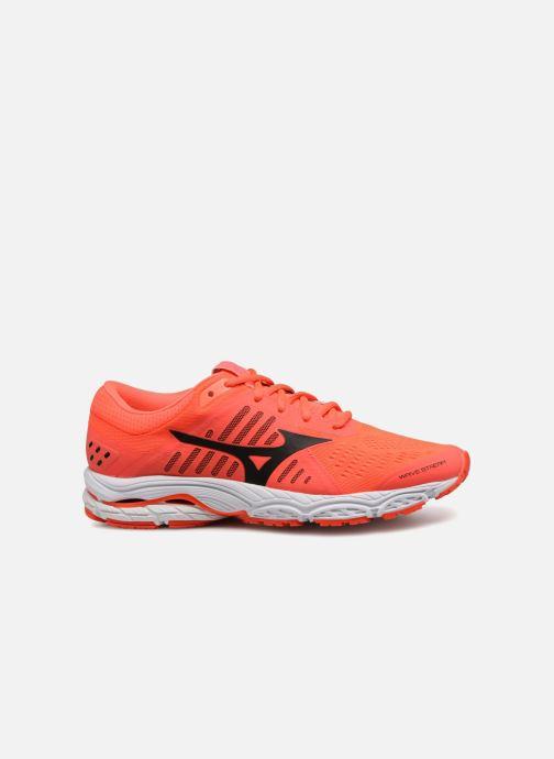 Sport shoes Mizuno Wave Stream (W) Orange back view