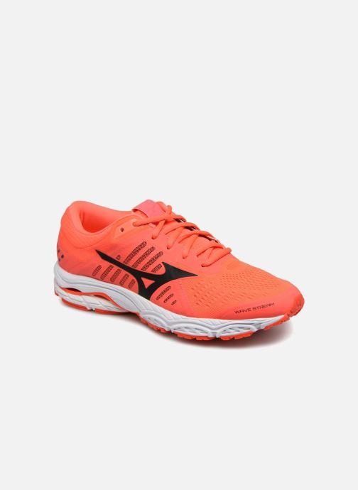 Sport shoes Mizuno Wave Stream (W) Orange detailed view/ Pair view