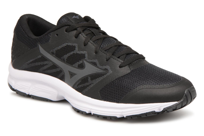 Chaussures de sport Mizuno MIZUNO EZRUN LX Noir vue détail/paire