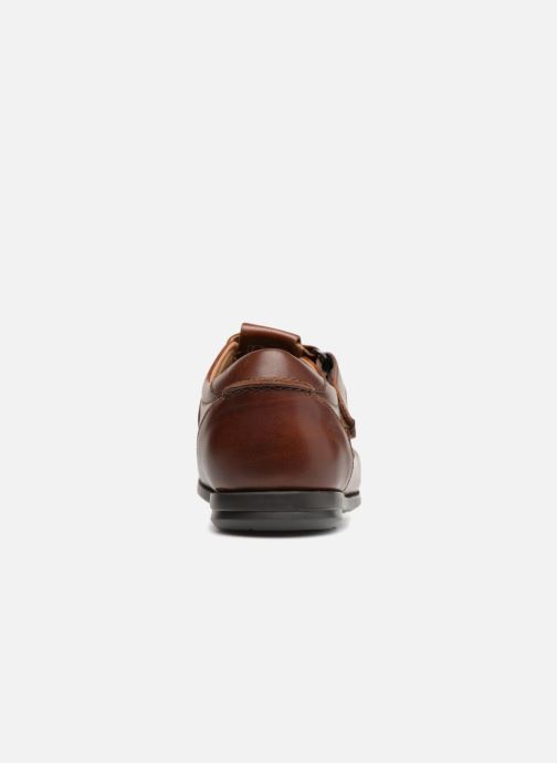 Loafers Clarks Unstructured Un Gala Strap Brown view from the right