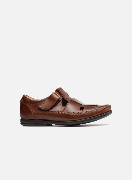 Loafers Clarks Unstructured Un Gala Strap Brown back view