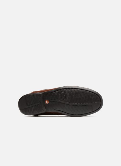 Loafers Clarks Unstructured Un Gala Strap Brown view from above