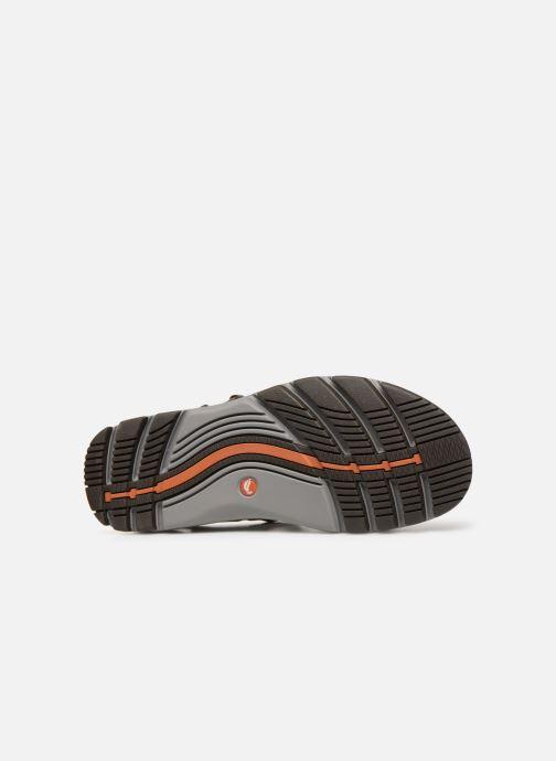 Sandales et nu-pieds Clarks Unstructured Un Trek Part Marron vue haut