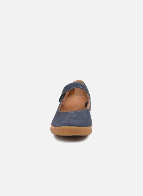 Ballerinaer Clarks Unstructured Un Haven Strap Blå se skoene på