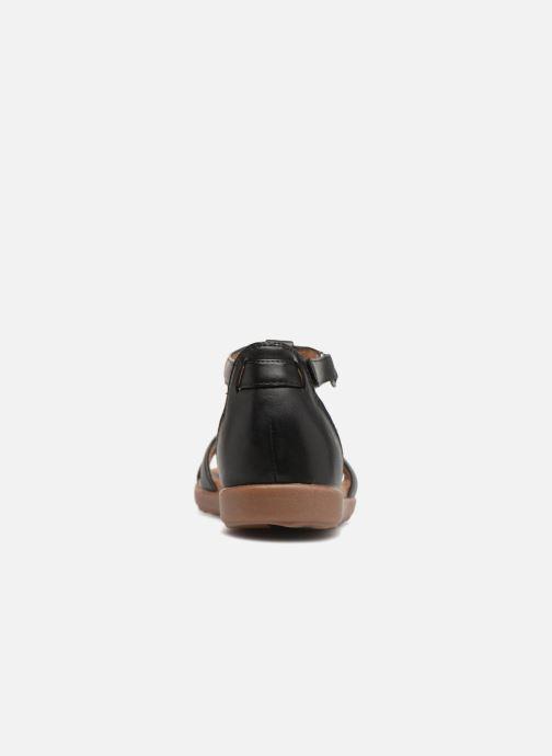 Sandales et nu-pieds Clarks Unstructured Un Reisel Mara Noir vue droite