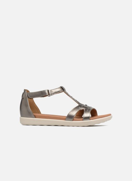 Sandales et nu-pieds Clarks Unstructured Un Reisel Mara Argent vue derrière